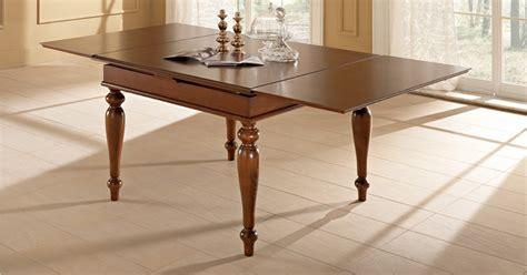 benedetti tavoli tavolo classico in legno siena di benedetti quadrato