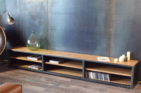 Meubles Bas Tv meuble tv de style industriel micheli design