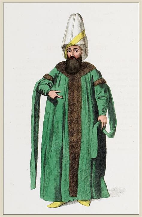 ottoman costume the costume of turkey ottoman empire officials and