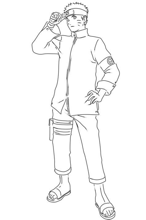 tutorial gambar sasuke cara menggambar naruto the last naruto dewasa 9komik