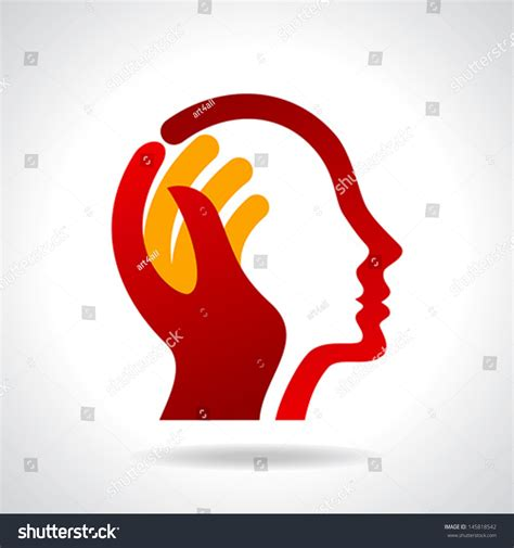 new idea human head thinking new idea stock vector 145818542