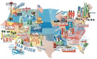 best cities to travel in usa travel holiday map