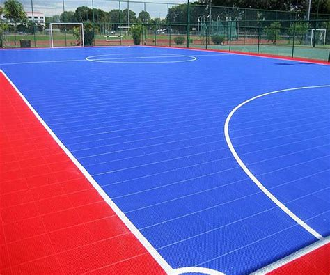 Interlock Floring Futsal interlock cancha de basquetbol floor suelo plastico for