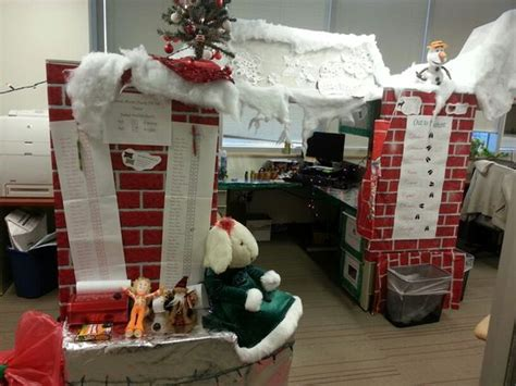 santa workshop cubicles ideas santa workshop cubicle decoration cubicles santas workshop decoration and cubicles