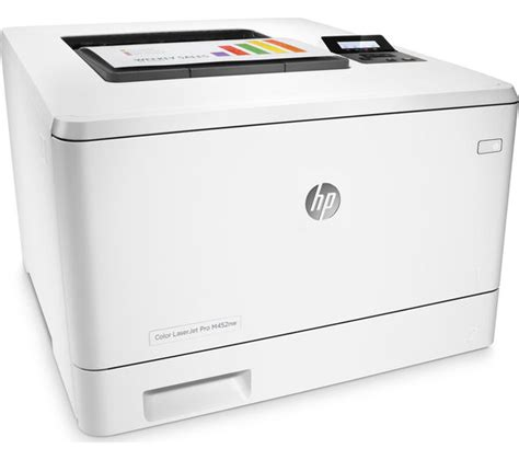 Printer Laserjet Wifi hp laserjet pro m452nw wireless laser printer deals pc world