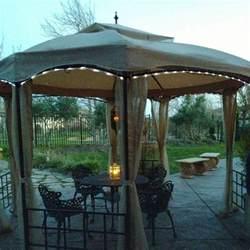 solar rope light kit for gazebo garden winds