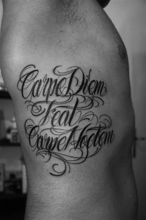 carpe diem tattoos 75 timeless carpe diem designs meanings 2018