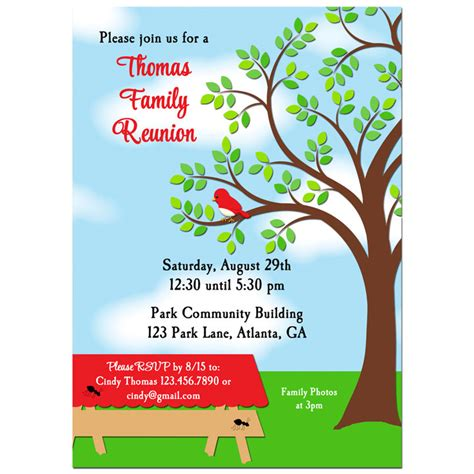 free printable family reunion invitation templates 25 best