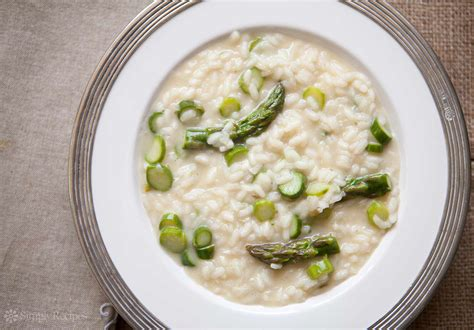 asparagus risotto recipe simplyrecipes com