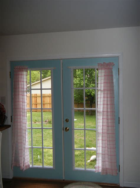 drapery ideas for french doors french door curtain ideas home design ideas