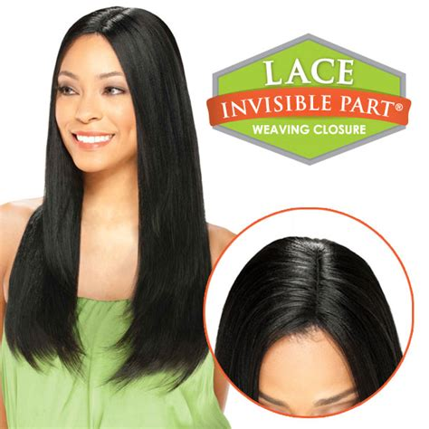 Ego 100% Remy Human Hair Top Piece Lace Invisible Part Closure