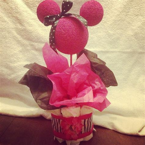 Minnie Mouse Centerpieces For Baby Shower by Baby Shower Centerpiece Minnie Mouse Shower