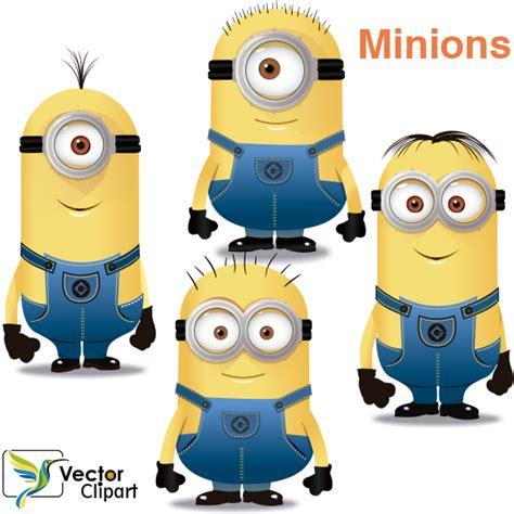 imagenes de minions normales los minions vector vector clipart
