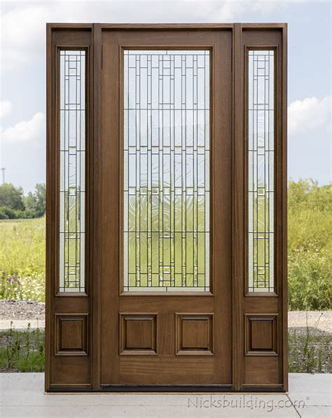 Prefinished Exterior Doors Prefinished Doors Frosted Glass Bifold Door In Unfinished Or Prefinished Wood With Doors Prepare 3