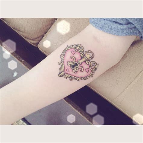 heart lock tattoo lock best design ideas