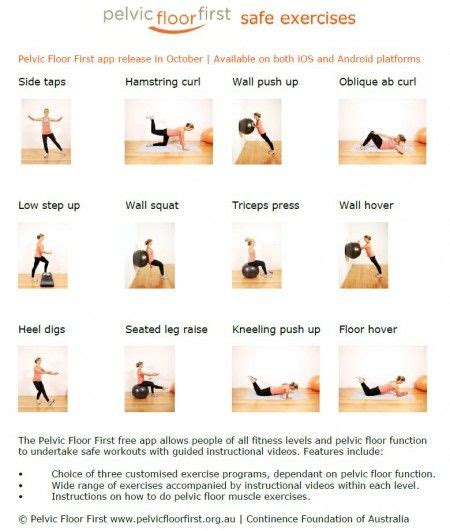Floor Exercises by 17 Best Ideas About Pelvic Floor Exercises On Pinterest