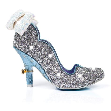 Prewalker Heels Sparkling Blue irregular choice sparkling slipper cinderella at millars