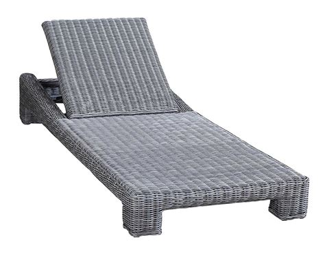 single chaise lounge emerald wicker single chaise lounge 1801 9