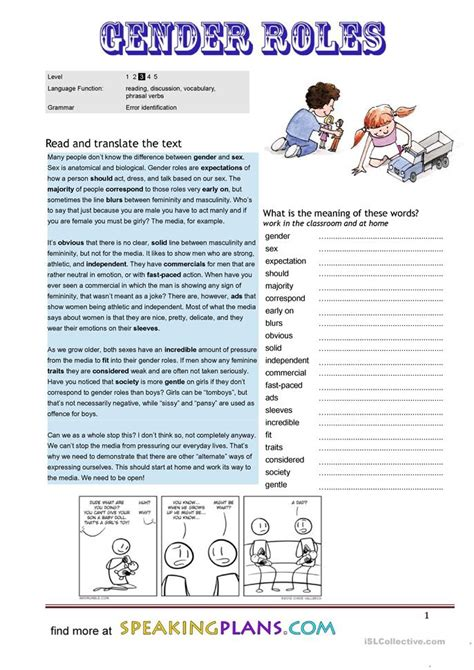 challenging stereotypes activities stereotype worksheets worksheets releaseboard free