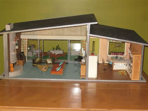 ebay doll houses midcentury modern dollhouse ebay everything dollhouse pinterest