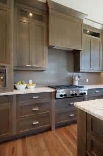 Taupe Painted Kitchen Cabinets Taupe Kitchen Cabinets Design Ideas