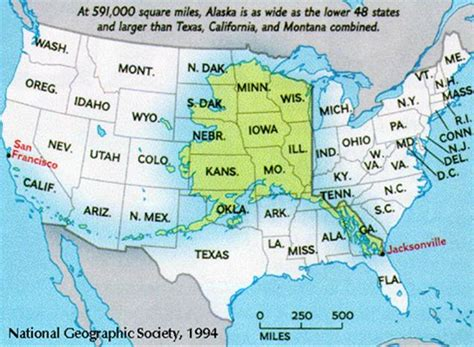 alaska map compared to us size of alaska compared to the lower 48 the funnies
