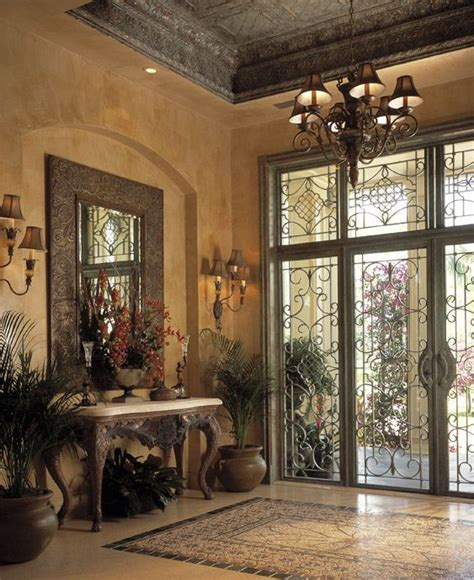 front foyer ideas entry mediterranean with wall art front door entry table image gallery mediterranean entryway