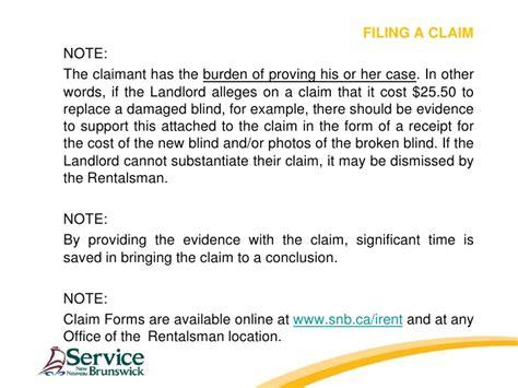 residential tenancies act