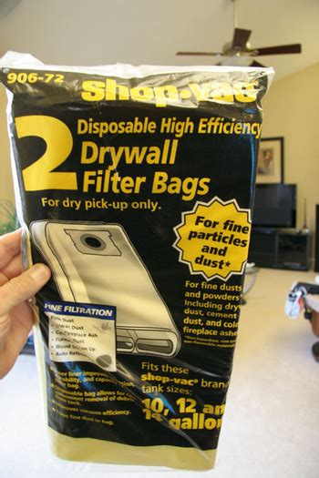 Bag Vb 1201 How To Clean Up Drywall Dust Avs Forum Home Theater