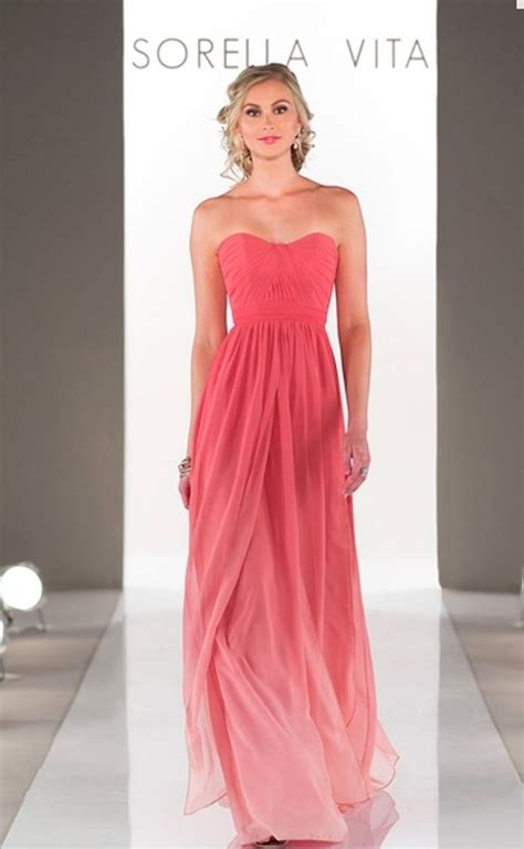 Coral Bridesmaid Dress by 78 Ideas About Coral Bridesmaid Dresses On
