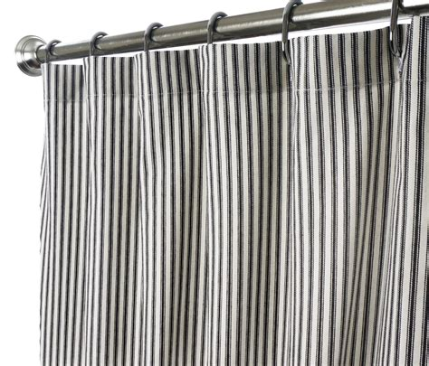 striped shower curtain fabric shower curtains in our fabric or yours