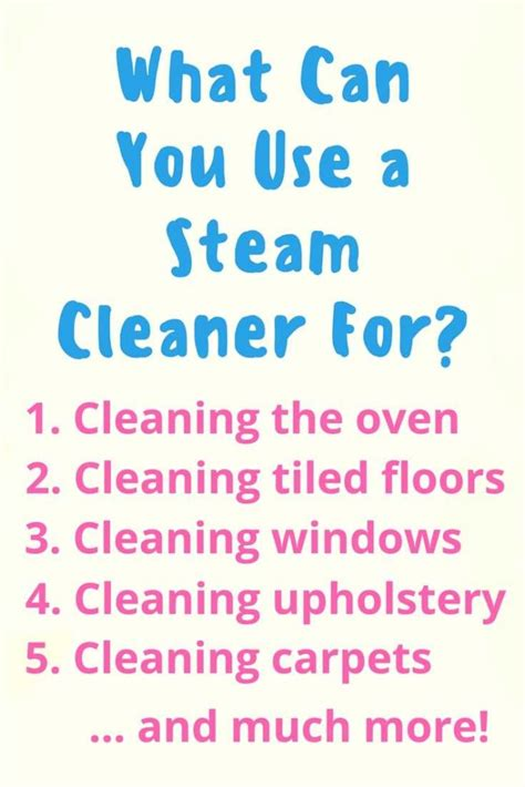 Can You Use A Carpet Cleaner On A by Best Steam Cleaners In The Uk 2017