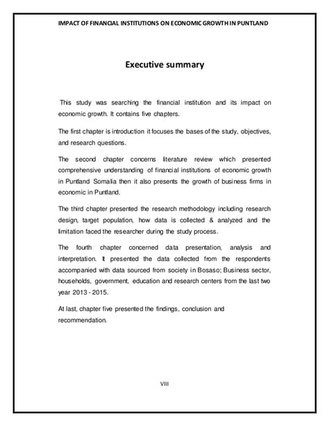 Financial Institution Welcome Letter financial institutions and economic growth