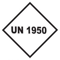 Un Aufkleber Bestellen by Un 1950 Aufkleber 10 X 10 Cm Aufkleber Shop