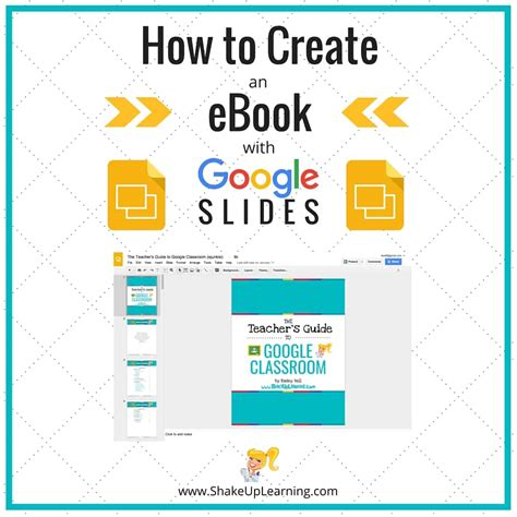 how to do it ebook how to create an ebook with slides shake up learning