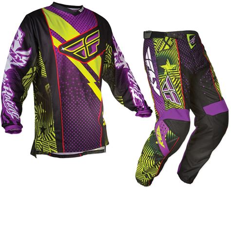 motocross jersey and combo fly racing 2012 f 16 ltd purple mx enduro motocross jersey
