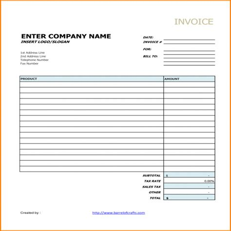 generic invoice template word generic invoice task list templates