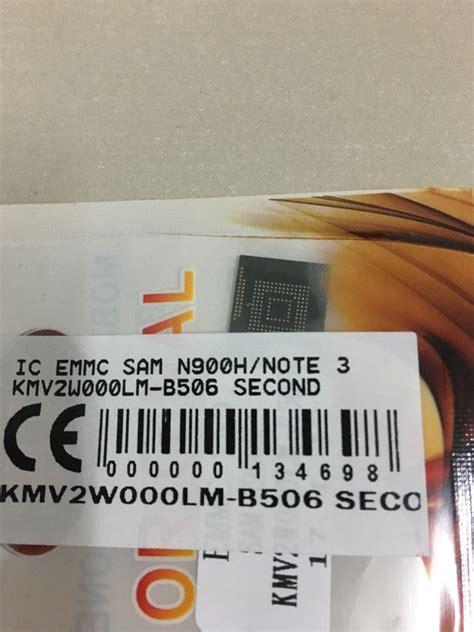 Ic Emmc Kmv2w Note 3 ic emmc samsung n900h note 3 kmv2w000lm b506 spare part