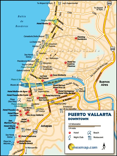 portavita mexico map portavita mexico map vallarta map vallarta