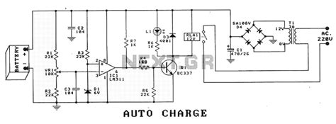 car battery charger diagram schematic new circuits page 447 next gr