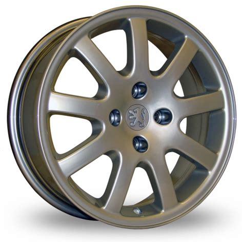 original peugeot 206 gti cc nimrod hyper silver 16 quot alloy