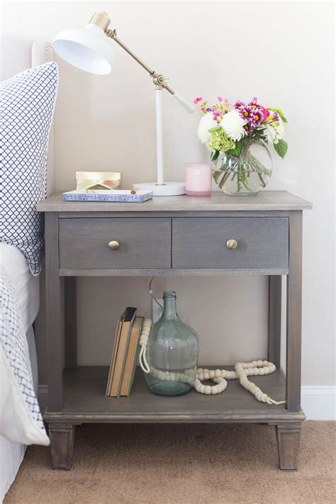 Bedside Tables Nightstands by Diy Pottery Barn Inspired Sausalito Bedside Table