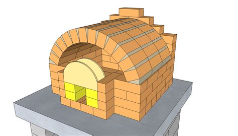 Backyard Brick Oven Plans by Outdoor Brick Pizza Oven Kits Furnitureplans