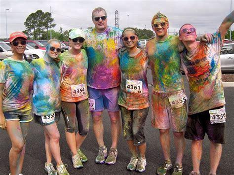 color me rad virginia this weekend color me rad in richmond arts
