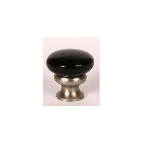 glass knob black satin nickel knobs n knockers