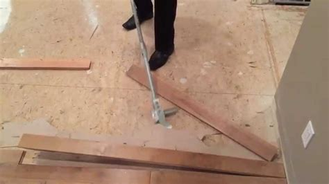 artillery tools hardwood flooring removal second video