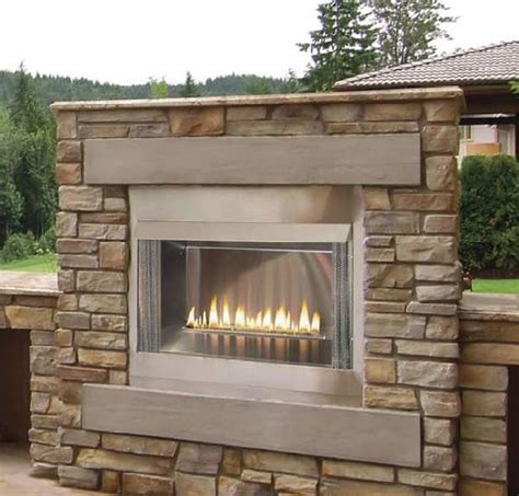42 Inch Gas Fireplace by 42 Inch Outdoor Gas Fireplace Decks