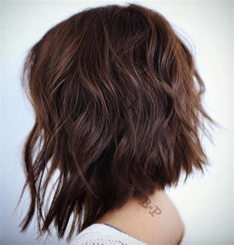 angled choppy bobs 50 most magnetizing hairstyles for thick wavy hair