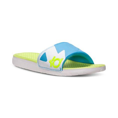 nike gel sandals lyst nike mens solarsoft kd slide sandal from finish