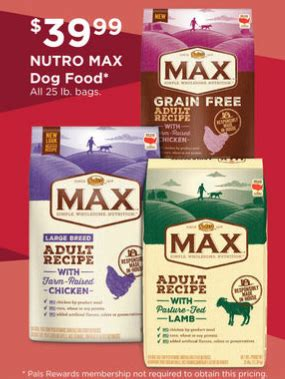 nutro food coupon save 65 on nutro max food mylitter one deal at a time
